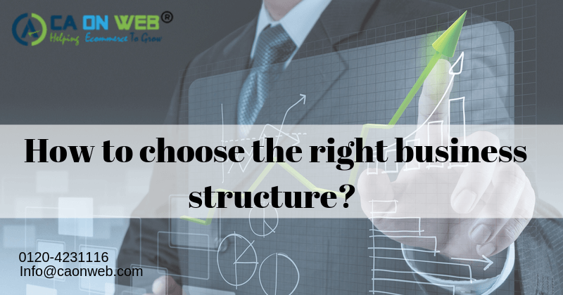HOW TO CHOOSE THE RIGHT BUSINESS STRUCTURE?