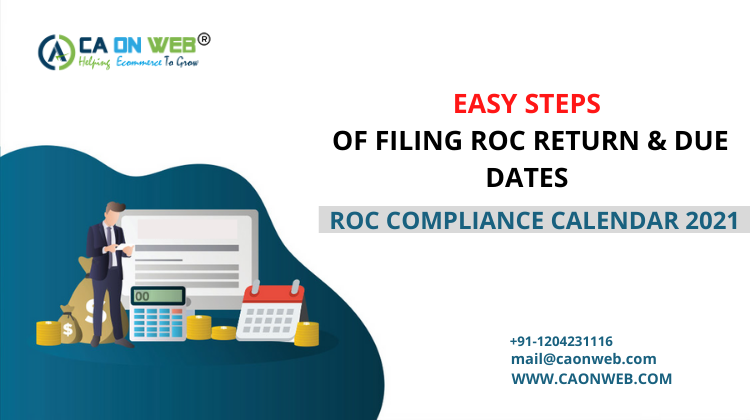 EASY STEPS OF FILING ROC RETURN & DUE DATES | ROC COMPLIANCE CALENDAR 2021